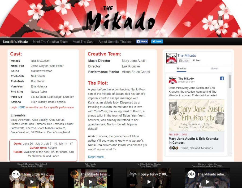 UnadillaMikado.com